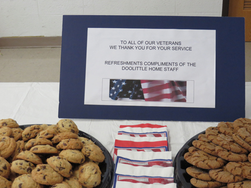 Cookies for our Veterans