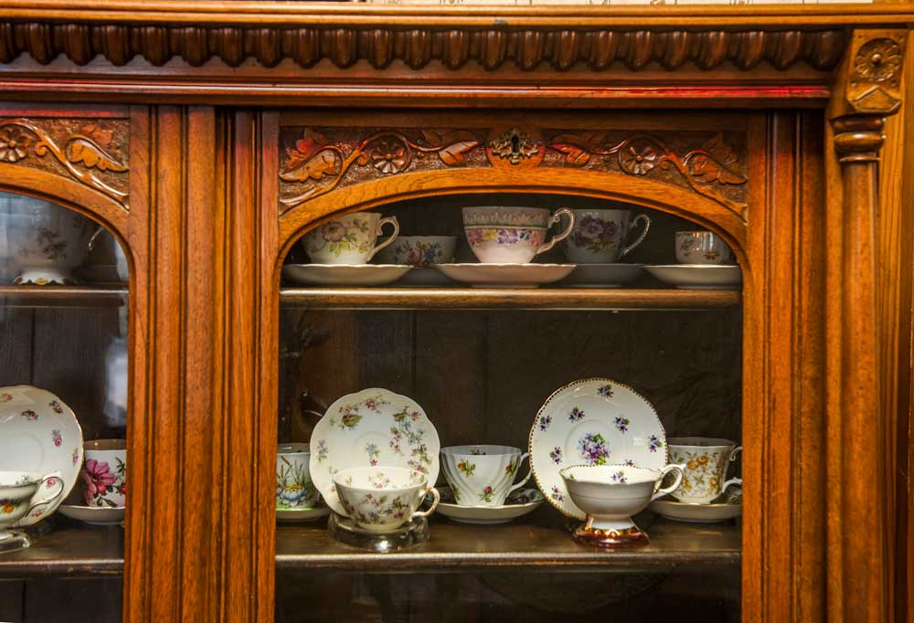 Fine China Tea Cup Collection