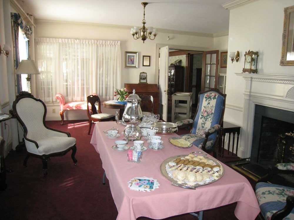 Tea in the parlor