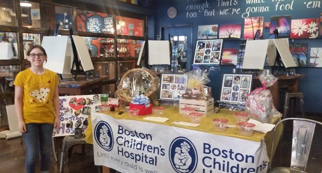 fundraiser for Boston Children's Hospital