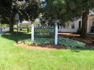 Doolittle Home sign