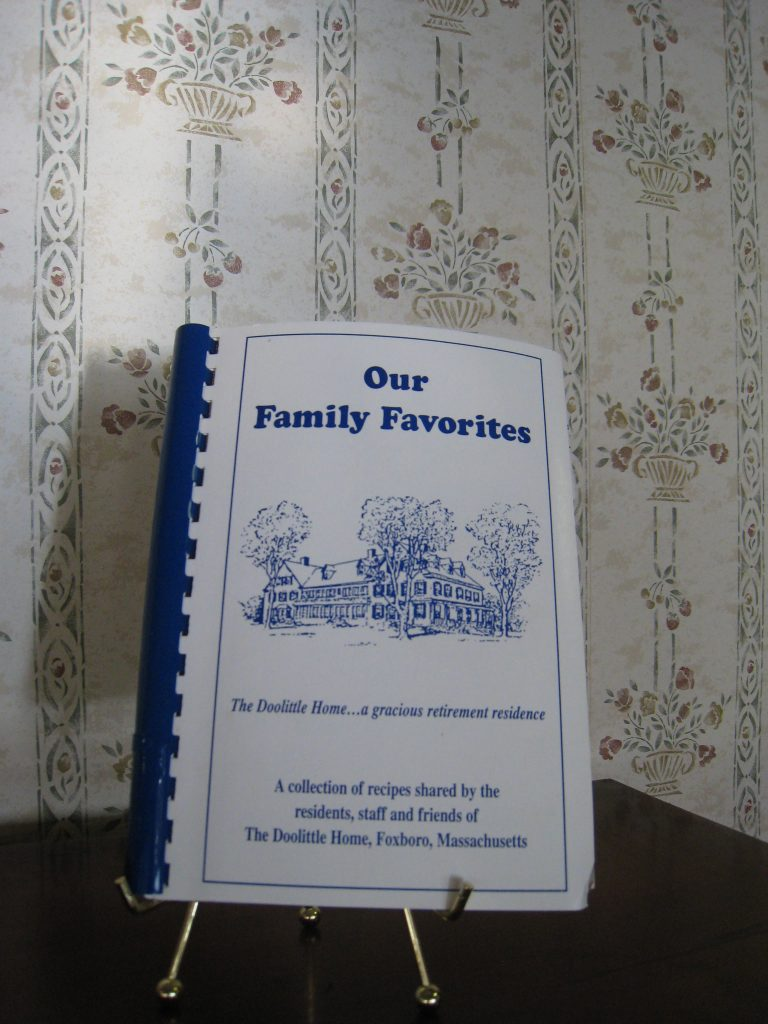 Doolittle Home Recipe Book