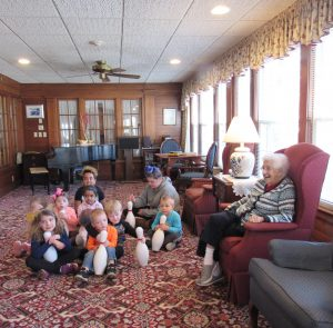 Margie's Daycare came to visit