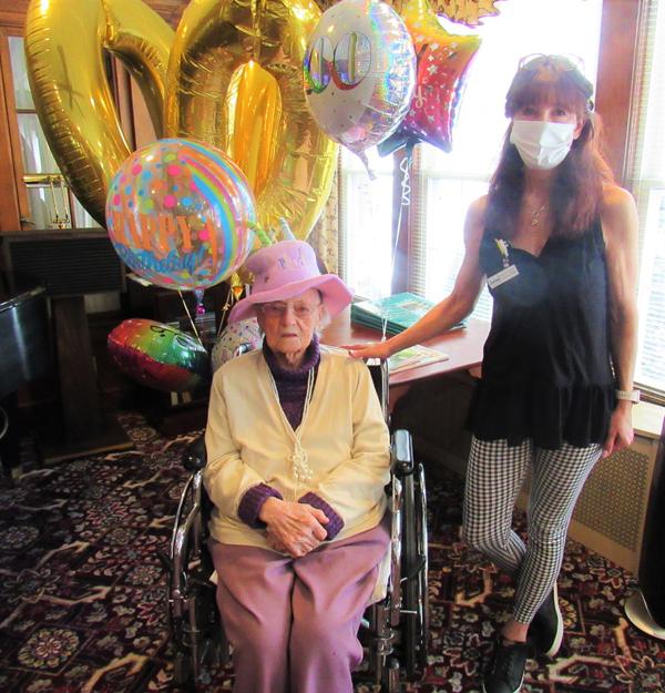 Kay Turns 100